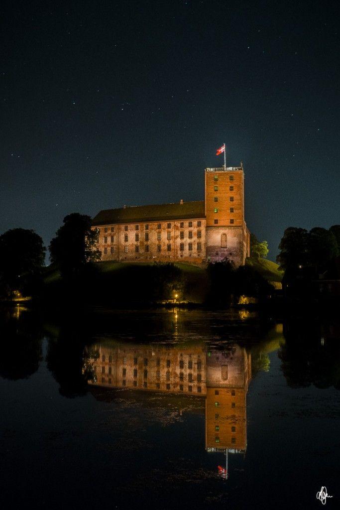 Koldinghus om natten