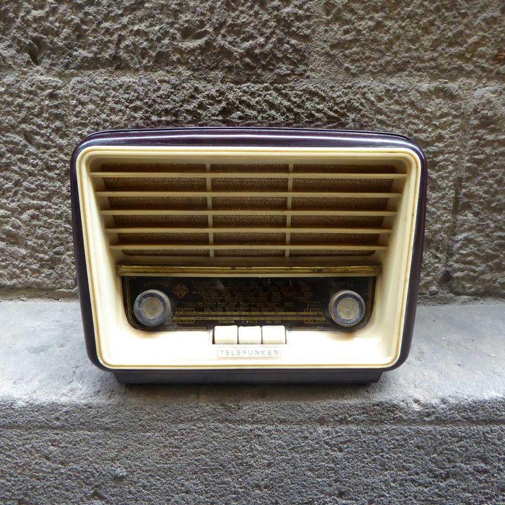radio-antigua-baquelita-telefunken-mementosbcn-1'