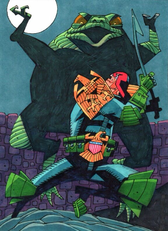 Judge Dredd by Mick McMahon