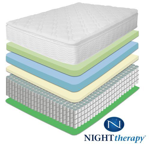 Night Therapy 10 Pillow Top Pocketed Spring Mattress King Http Www Mytimehome Com Night Therapy 10 Pi Pocket Spring Mattress Mattress Pillow Top Mattress