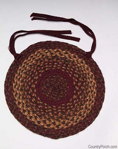 Cinnamon Braided Chairpads, Stair Treads, Area Rugs, And Room Size Rugs  Available @