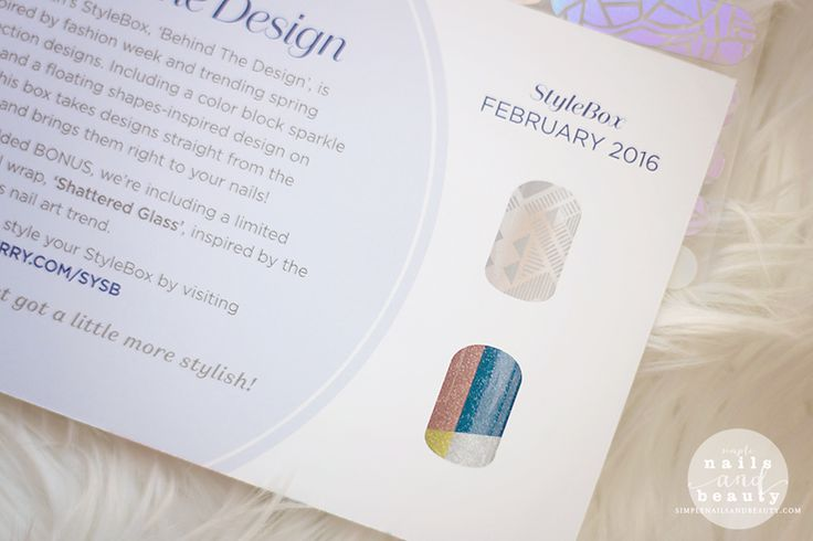 February 2016 Jamberry Stylebox Review and Unboxing