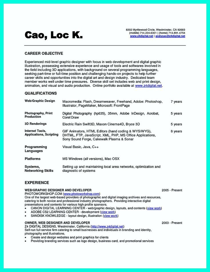 awesome The Best Computer Science Resume Sample Collection, Check more at http://snefci.org/best-computer-science-resume-sample-collection