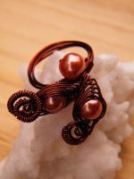Copper Wire Ring2 by Mirtus63