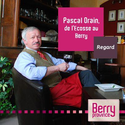 Portrait d'un aubergiste pas tout à fait comme les autres. Très attaché aux traditions britanniques, Pascal Orain sait mettre du bonheur dans l'assiette !