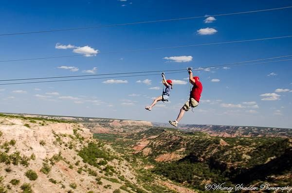 Palo Duro Canyon zip line. What a thrill!! 2016 vacation