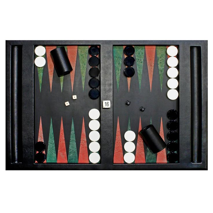 Karl Springer Backgammon Board, 1992 | See more antique and modern Game Tables at https://www.1stdibs.com/furniture/tables/game-tables
