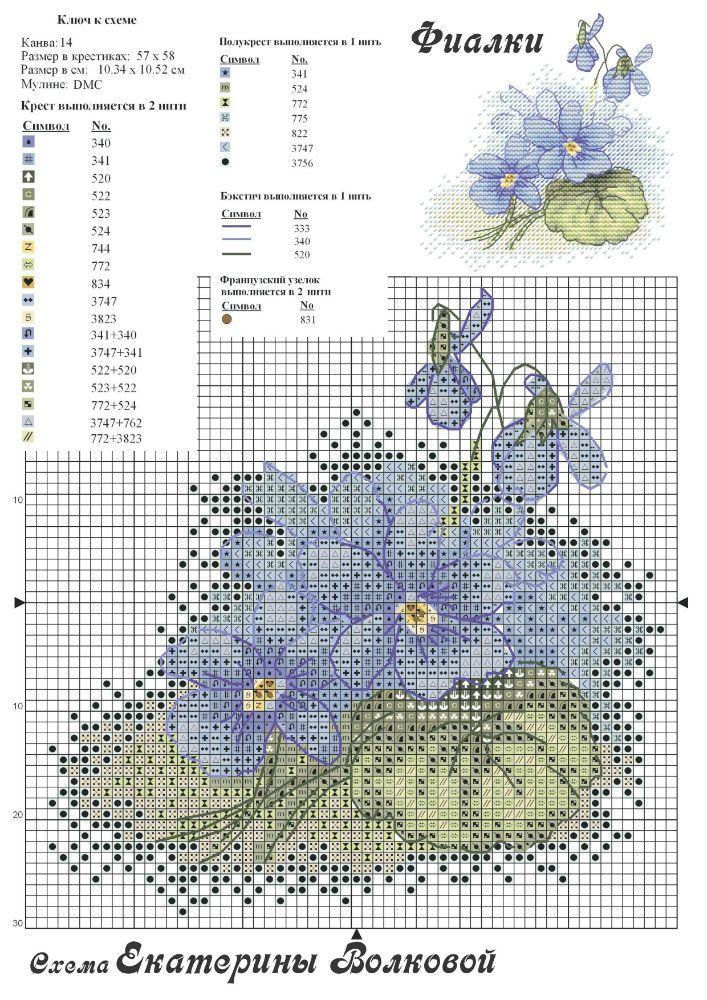 Cross Stitch *<3* Flowers