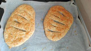 Spanischer Käse-Fladen - leckeres Brot mit Manchego-Käse
