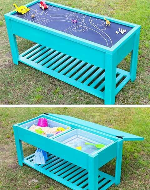 Mesa de agua y arena ------ Water and sand table