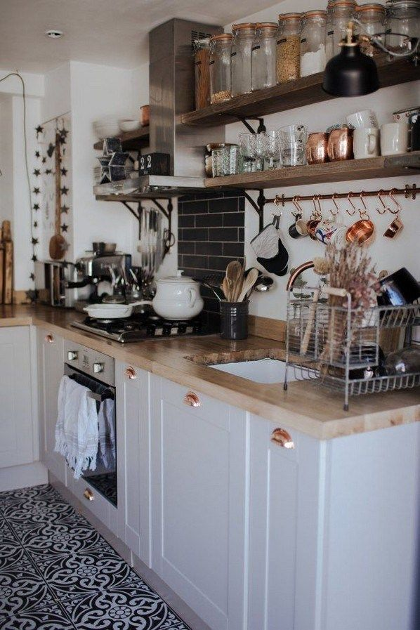 beautiful and simple kitchen shelf made from rustic pallet wood rh pinterest com