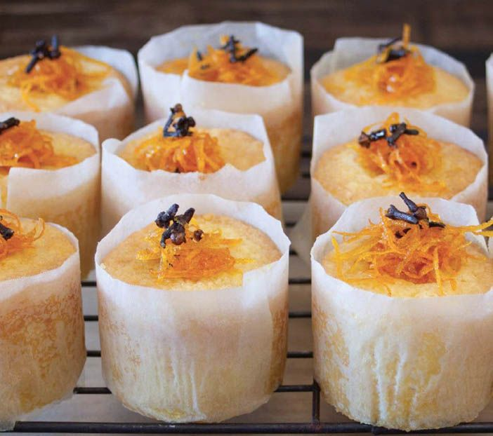 Tunisian Orange Cakes Gluten Free