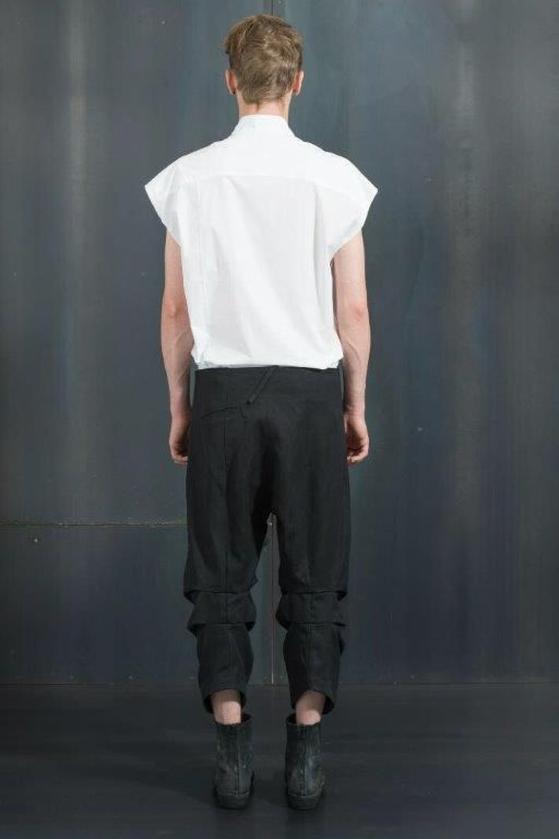 Lost and Found | Cropped Pant Black www.fallow.com.au
