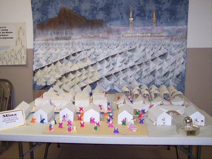 Mina Hajj Experience Mural by Sr.Ann