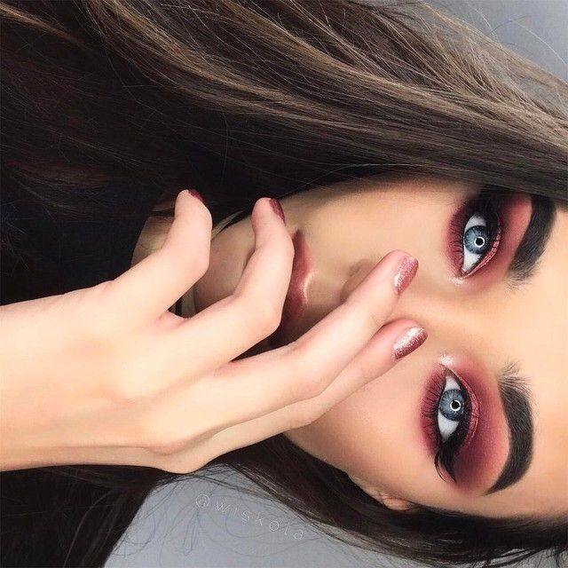 best 10 intense eye makeup ideas on pinterest black