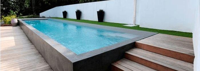 piscine avec un container maritime