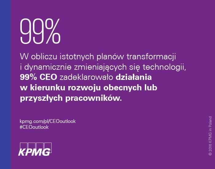 72% CEO uważa, że ich organizacja nie jest w pełni przygotowana na cyberatak. #CEOoutlook #CEO #KPMG #KPMGPoland