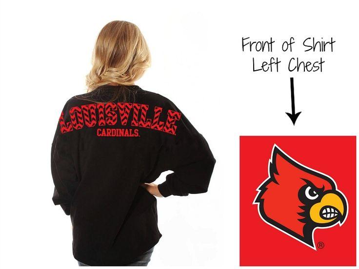 Black Chevron University of Louisville Spirit Tunics