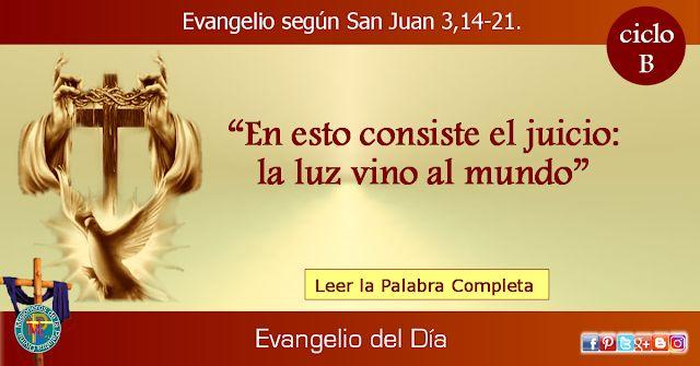 MISIONEROS DE LA PALABRA DIVINA: EVANGELIO - SAN JUAN   3,14-21