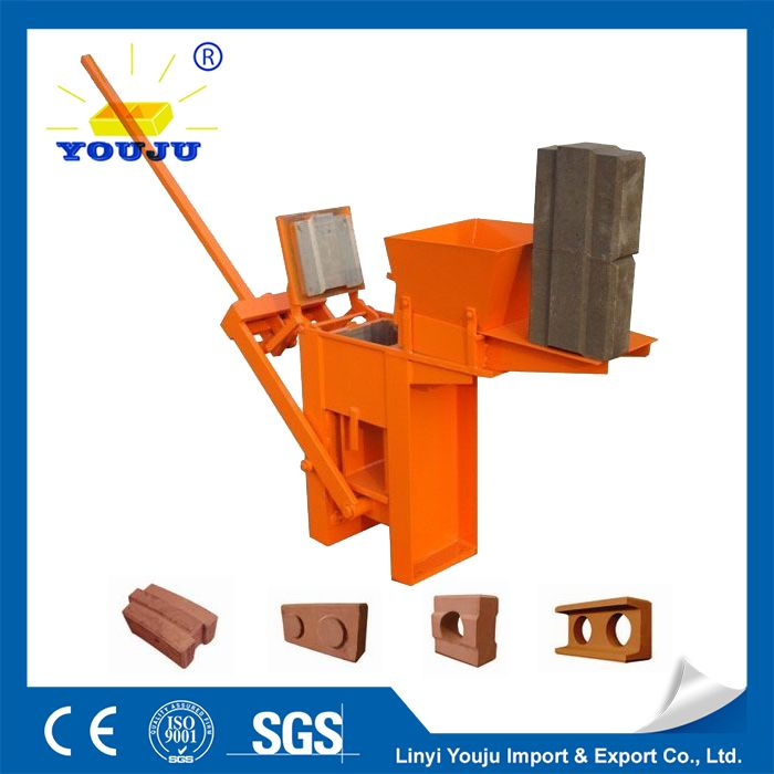manual clay block machine