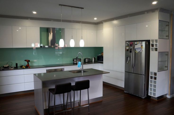 Best 8 caesarstone cosmopolitan white images on pinterest for 2 pac kitchen cabinets
