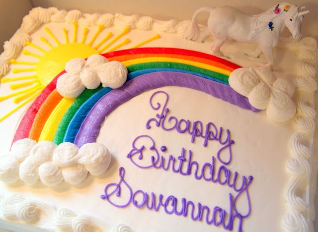 Rainbow Unicorn Birthday Party with Free Printables - The Cottage Mama