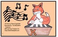 Alphabet Sight Word Reader  Fox Plays Rhymes - Letter Xx
