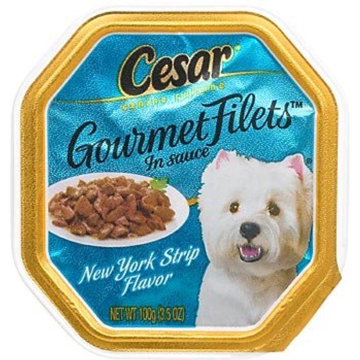Cesar gourmet filets new york strip canine cuisine you