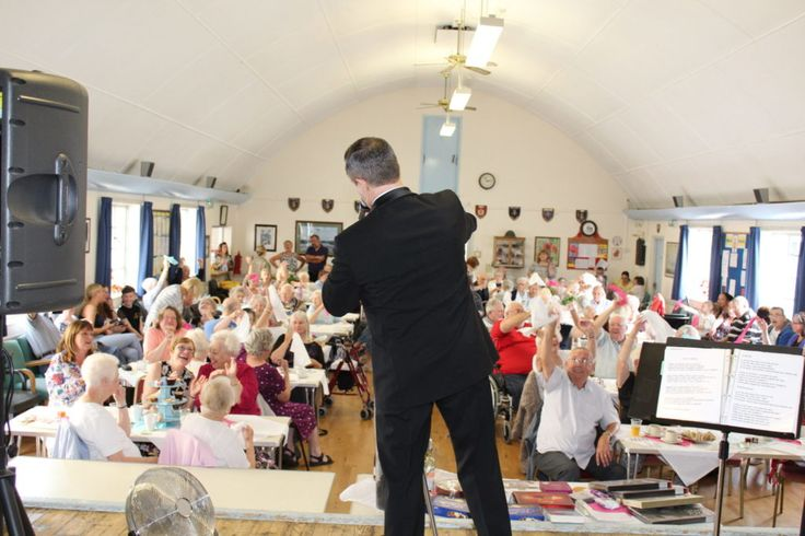 This charity is local to Andy so he was really happy when they asked if he could perform at their afternoon tea charity event, the event sold out in days so we had a full house 120 locals residents came to the event.Witham town luncheon club is a nonprofit organisation and relies on grants to be able to provide home cooked meals to senior citizens.  They raised £1128.00 for the club. See more pictures at https://www.andywilshersings.co.uk/shows/charity-events/witham-luncheon-club/