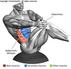 ABDOMINALS - RUSSIAN TWIST ON BOSU