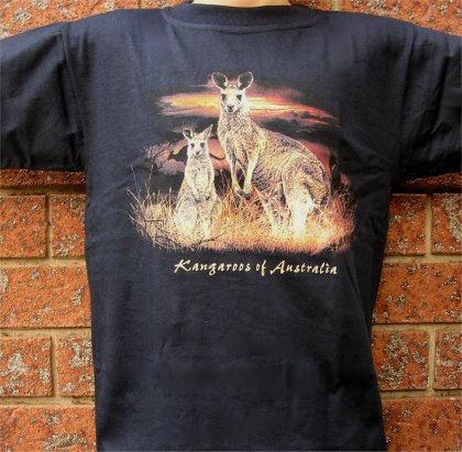 Kangaroos of Australia Childrens T-Shirt