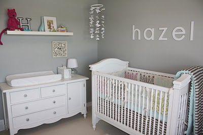 beautiful baby girl nursery ideas | ... amour :: {canadian baby blog}: :: gorgeous modern baby girl nursery
