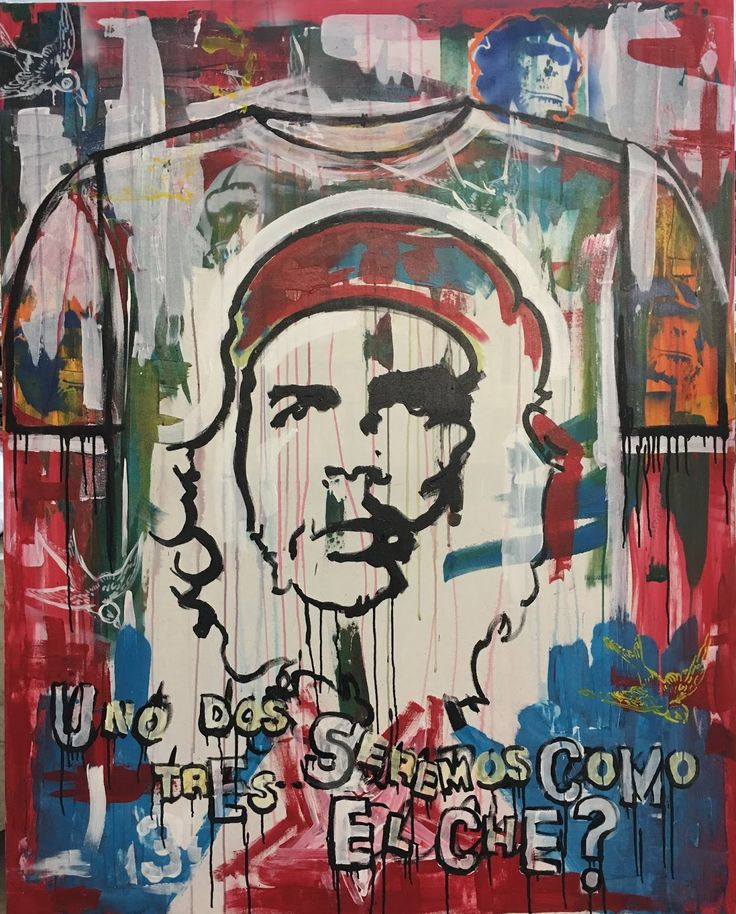 """US HEROES Serie Part 1: Che Guevara        """"10""""     A Group Exhibition       Art Gallery at Eissey Campus   Palm Beach State College-BB..."""