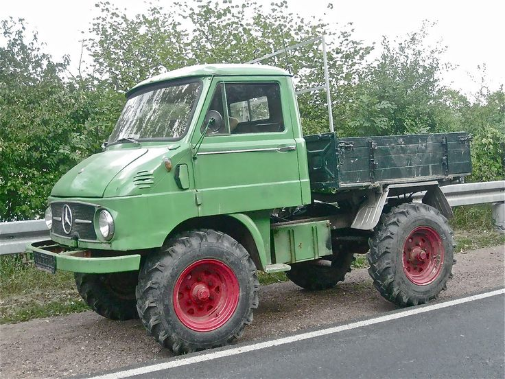 mercedes benz unimog small 4x4 truck all terrain milti
