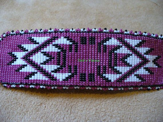 17 Best Images About Beaded Seedbead Barrette On Pinterest