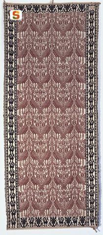 Copricassa (coberribáncu) - Isili - 1908, carpet, rug, Sardinia, Sardegna, Tappeto.