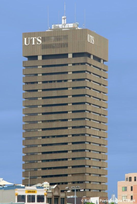 University of Technology Building, Sydney - The Skyscraper Centre, Photo Roberto Portolese
