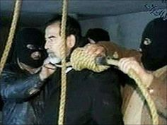 Saddam Hussein was hanged on December 30th, 2006, for Crimes Against Humanity.