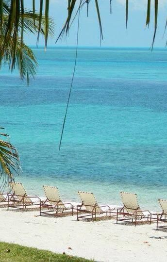 Beach at Old Bahama Bay - no filter needed! (West End, Grand Bahama Island)