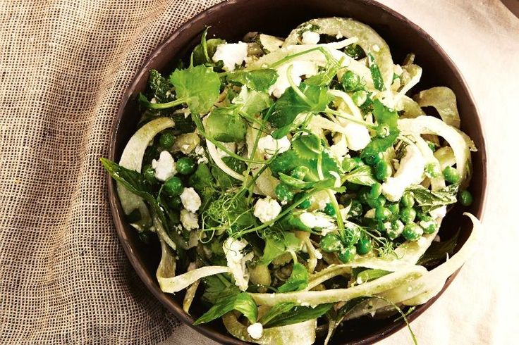 This easy, fresh pea and fennel salad showcases the best of Spring produce.
