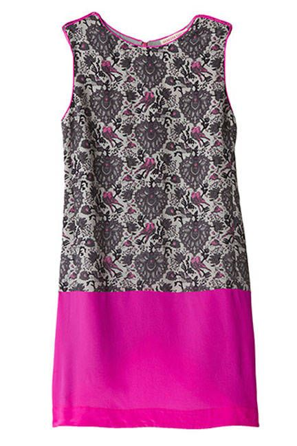 Printed pink from Rebecca Taylor #datenight