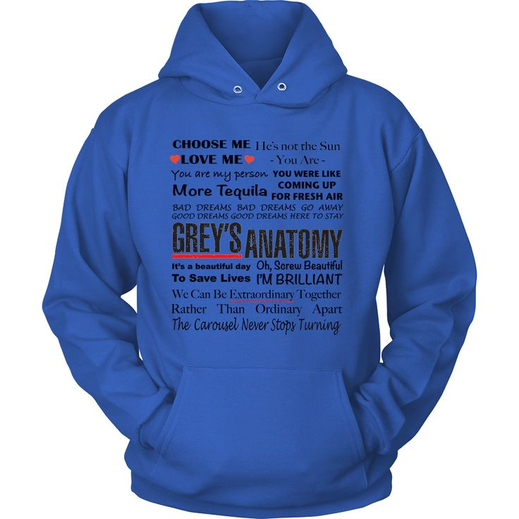 Grey's Anatomy Best Quotes Shirt