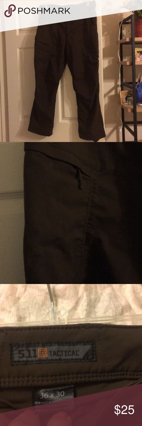 Men's tactical pants Brown cargo tactical pants. 36 / 30 511 TACTICAL Pants Cargo
