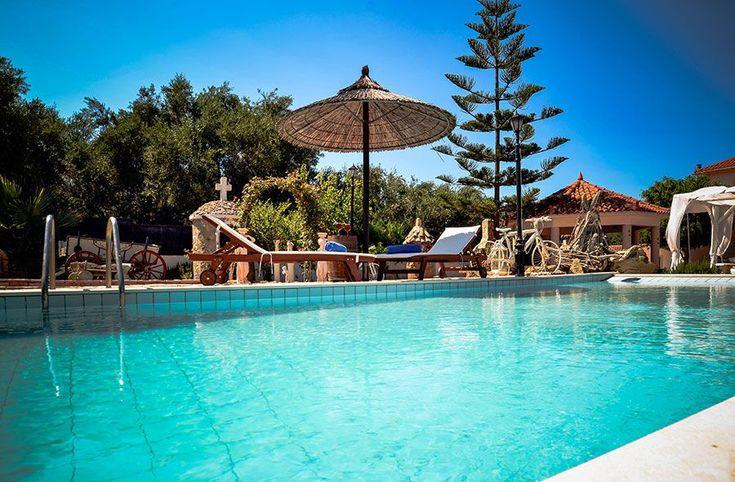 Вилла в аренду, 4 спальни, частный бассейн. Закинтос, Греция