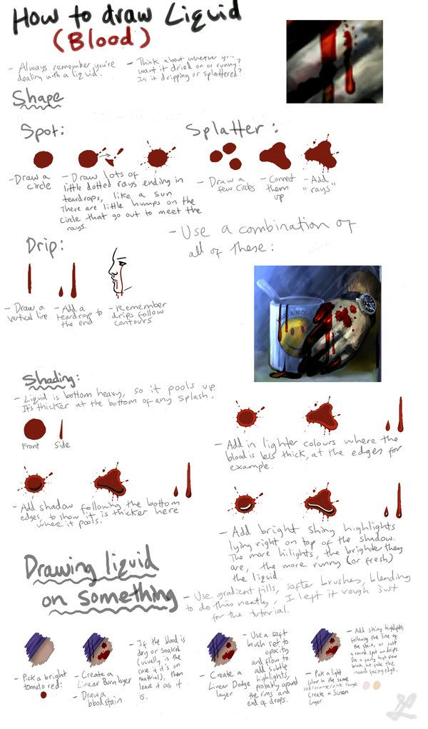How to Draw Blood and Liquid by ~DeletedSeen on deviantART