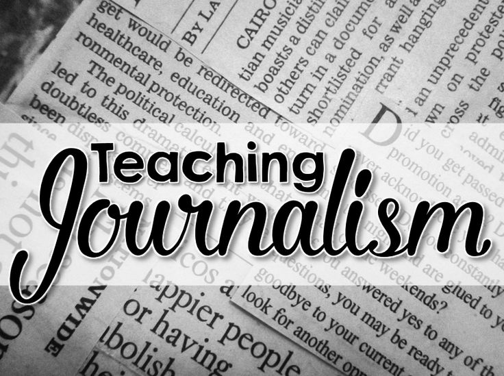 Journalism teaching resources and ideas for middle school and high school.