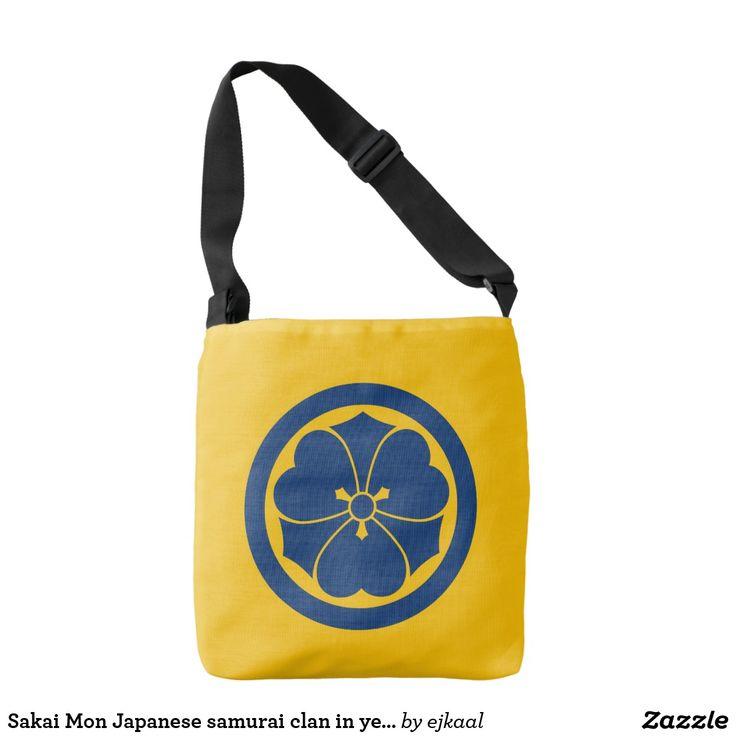Sakai Mon Japanese samurai clan in yellow