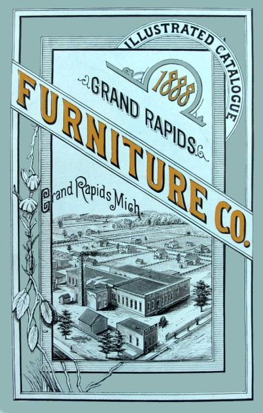 Grand Rapids Furniture Co Michigan Manufacturers Of Bedsteads 1877 1891 Advertising City