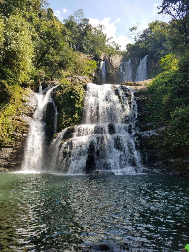 Nauyaca waterfalls Dominical Puntarenas Costa Rica [OC] [4032x3024]