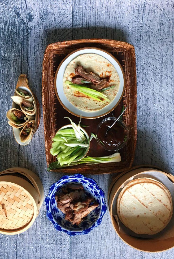 LUMA Pekingente, Gurken, Tortillas, Gemüse, Ente
